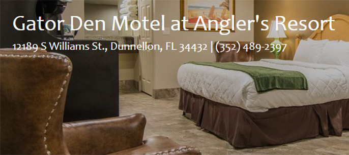 Gator Den Motel at Angler's Resort